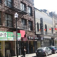 The Street of Painted Balconies, Chinatown, San Francisco