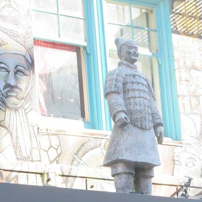 Terracotta Army Mural, Chinatown, San Francisco, CA