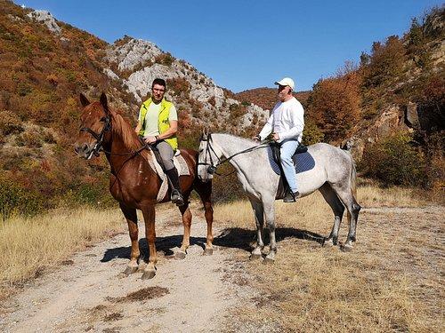 Horseback riding in the Kamenica