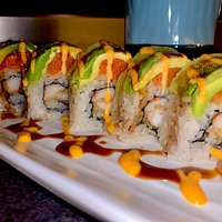 Tiger Roll at Shing Ya! Great Roll! So Good! Wow! Glad I did that!