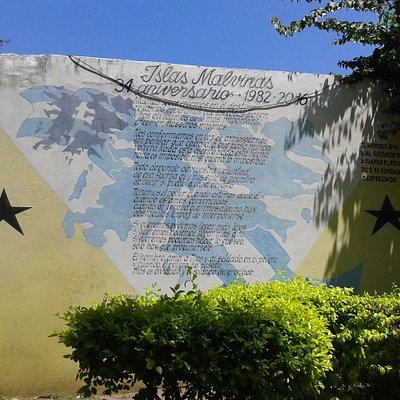 Plaza Salaberry: Poesìa en Carrousel- Barrio Mataderos, Bs.As. 2020.
