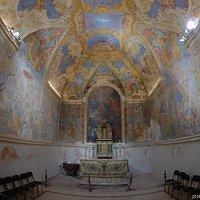 Oratorio frescoes