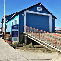 3.  The Mary Stanford Lifeboat Pebble Memorial, Rye Harbour;  The present-day lifeboat station