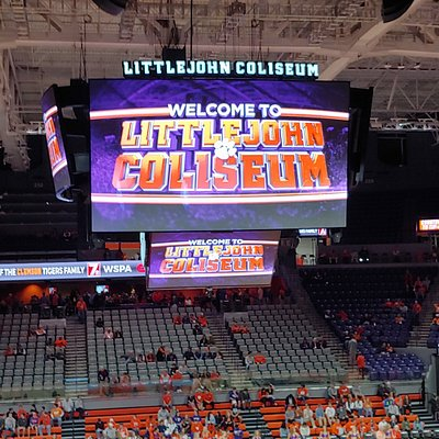 Littlejohn Colliseum Clemson SC Basketball