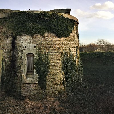 5.  Martello Tower No. 28, Rye Harbour, East Sussex