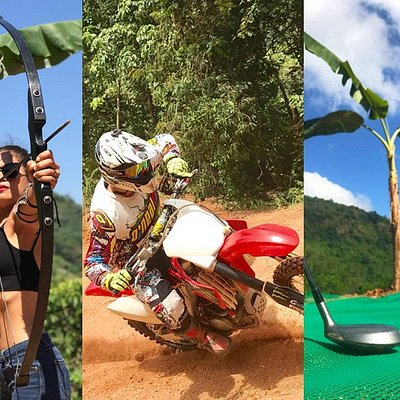Motocross track in Phuket with Mini golf and Archery lessons