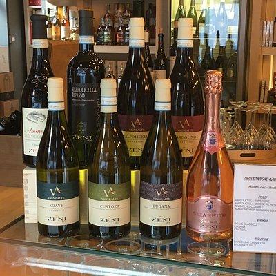 Degustazione vini azienda Zeni