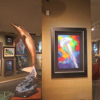 Wyland Galleries, Seaport Village, San Diego, CA