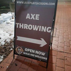 Axe Play