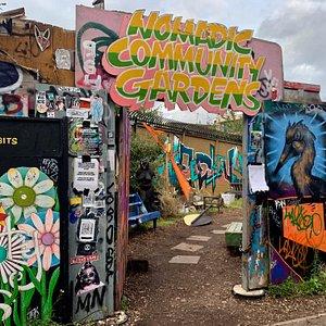 Nomadic Community Gardens - Shoreditch