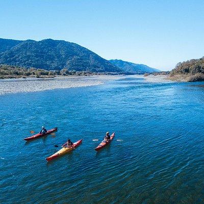 最大水量日本一の吉野川。その広さが特別!
