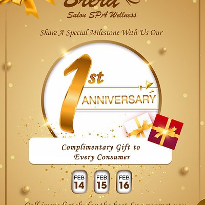 Three-day celebration event👏👏👏 fir 1st ever Brera's Anniversary🎉🎉🎉, all the consumers will be offered little adorable complimentary gifts 🥰🥰 Lets get it!!