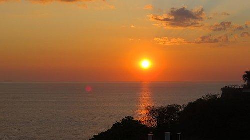 Langosta beach and sunset