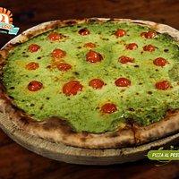 Pizza Pesto, Increíble!