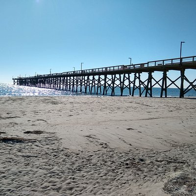 Oak Island Pier---highest and newest pier in the State of North Carolina. Open every day!