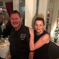 Owners of Sweet Lulas Chef Anthony and Lula