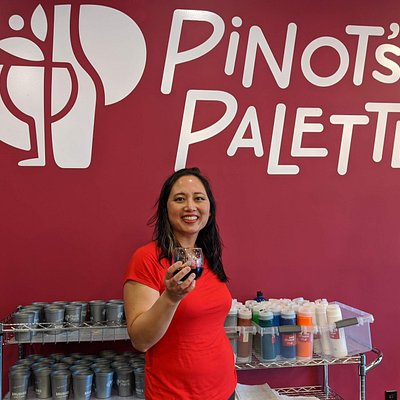 The owner of Pinot's Palette San Bruno!