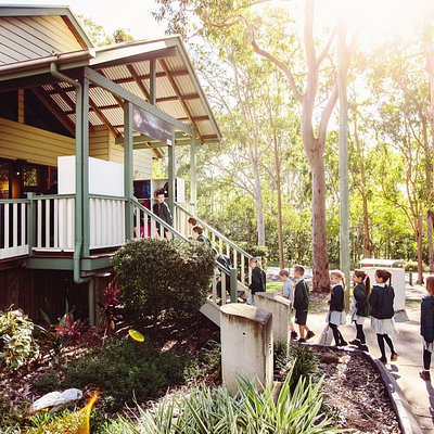 School excursion to Pine Rivers Heritage Museum. Image courtesy of Moreton Bay Regional Council.