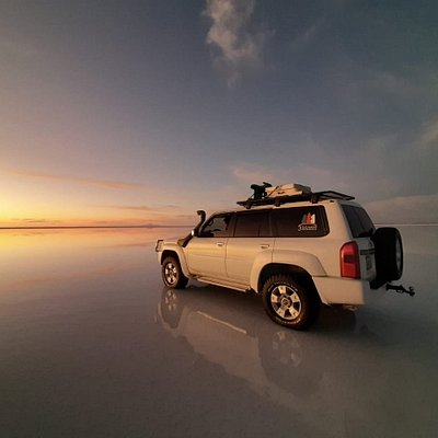 One of our vehicles in Uyuni