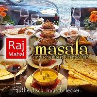 Leckere indische Speisen laden zum Teilen ein