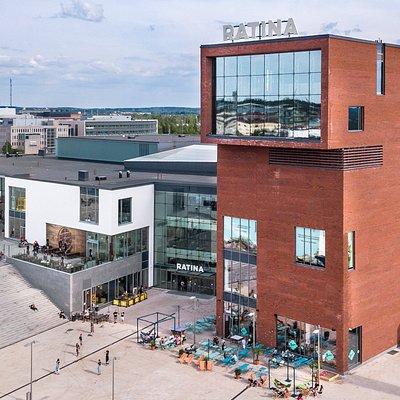 Kauppakeskus Ratina, Vuolteenkatu 1, Tampere