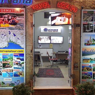 Nirvana Travel Service Hadrians Gate Office