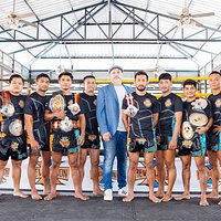 REVOLUTION 😎Muay Thai Champions with overseas teaching experience are motivated share their passion for Muay Thai. Beginners, kids, families are welcome as well as those with more experience.