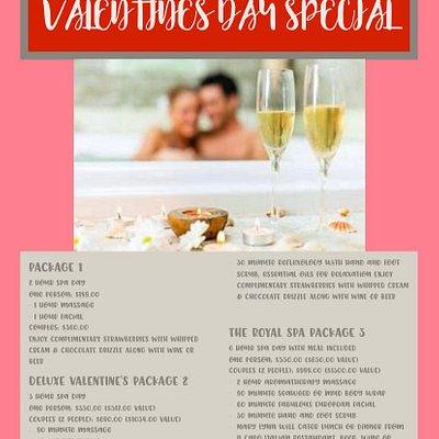 Valentine's day specials 💕