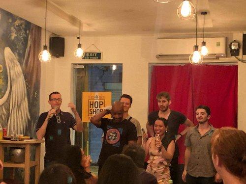 Feb 5th - (L to R) Niall Mackay, JK Hobson, Andrew Packer, Vu Minh Tu, Devin Gray and Tommy Pruchinski