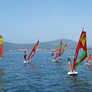 windsurf in Alghero