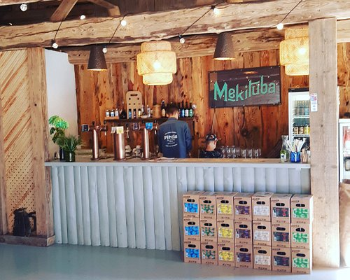 Our taproom open during summer months. Nice place to have beer flight from Estonia's oldest microbrewery.