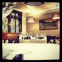 Vista parcial de la sala del Restaurante.