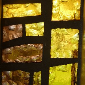 Part of the stained windows by A. Winternitz