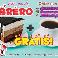 Este mes del amor y la amistad, ven a disfrutar de nuestros platillos especiales y recibe gratis una rebanada de pastel y un café......