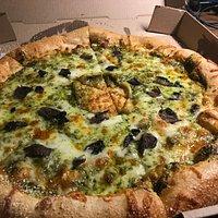 Pesto & Portobello Pizza