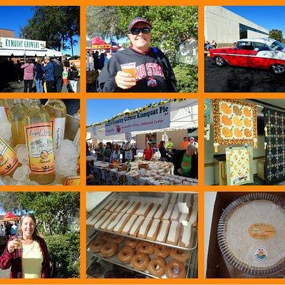Kumquat festival Dade city. Kumquat foods, vendors, car and quilt show