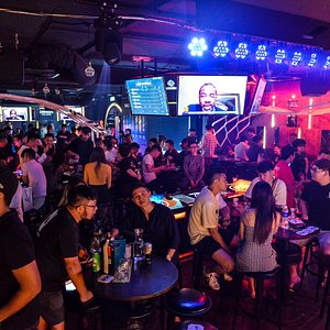 IPong PJ; one of the best place to enjoy a game of beer pong and a mugs, or maybe 2 mugs of beers!