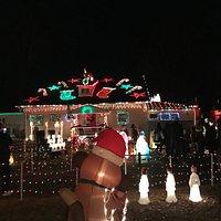 Smith's Family House Christmas Lights
