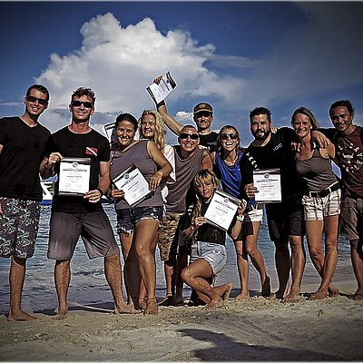 January 2020 on The PADI Scuba Diving Instructor Development Course (IDC) in Gili Trawangan, the Gili Islands, Indonesia with Industry Recognized Award Winning Multiple Platinum PADI Course Director Holly Macleod