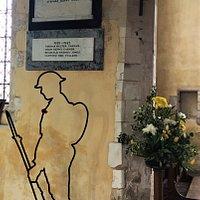 3.  Warehorne War Memorial, Warehorne, Kent