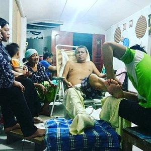 Massage therapy urut untuk strok
