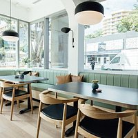 Outdoor terrace seating - or a cosy booth, the choice is yours!