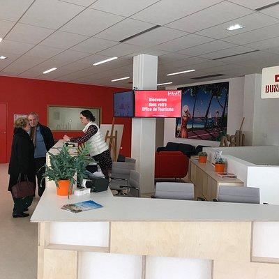 Comptoir de vente et d'accueil