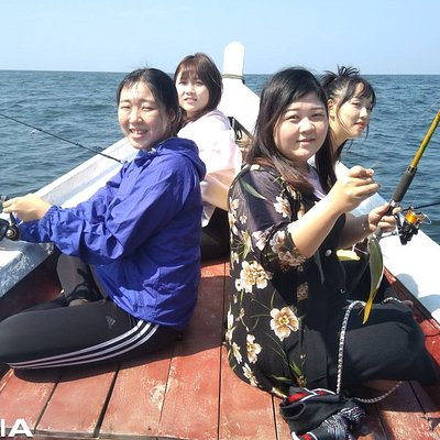 Fishing boat trip.