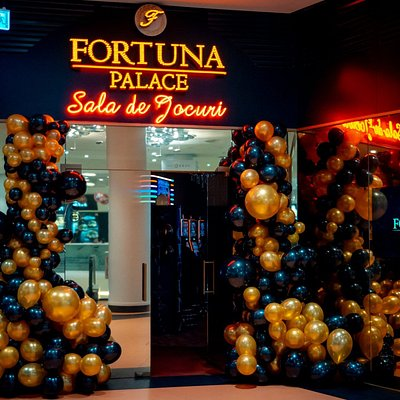 Fortuna Palace main entrance at 2nd floor in Promenada Mall