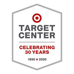 Target Center 30th Anniversary Logo