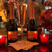 A Valentine's Day affair at La Grenouille