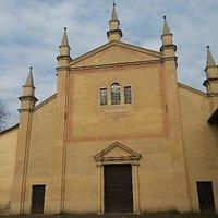 Chiesa risalente al XVII° sec. (S.Rocco) a Soragna  -Beata Vergine del Carmine-
