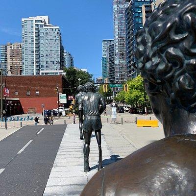 Douglas Coupland's Terry Fox Memorial @ BC Place