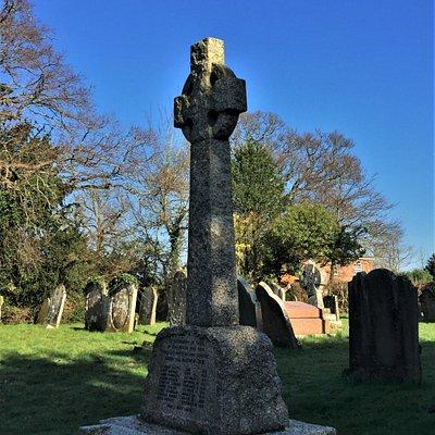 4.  High Halden War Memorial